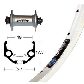 Ryde Zac 19 Vorderrad 28x1.75 Deore silber